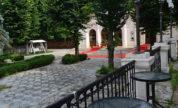 Gradinile de la Palatul Ghica