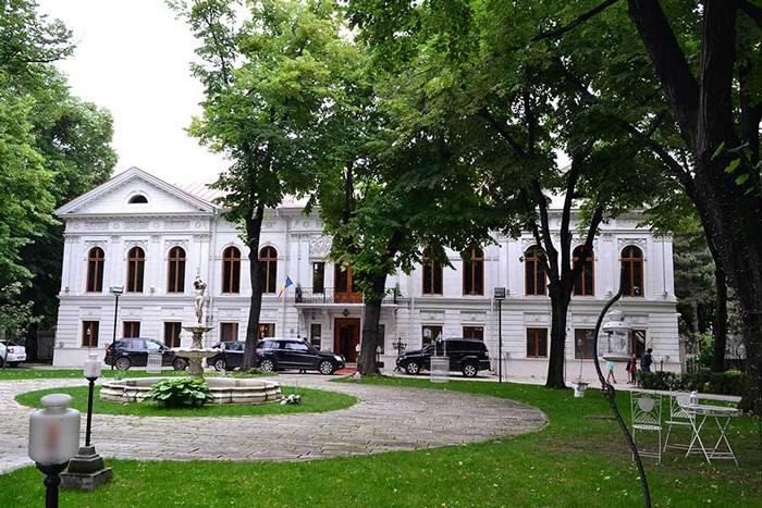 Palatul Ghica loc istoric