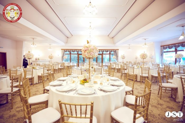Sala de bal de la Palatul Ghica