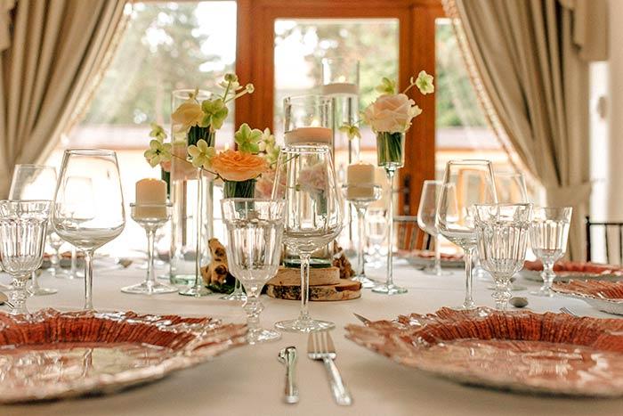 Pregatire nunta sala de bal