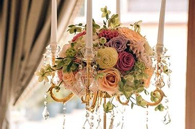 Aranjamente florare sala de bal