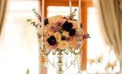 Flori splendide in sala de bal