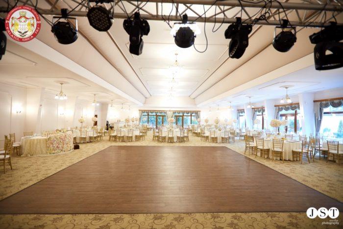 Palatul Ghica sala de bal frumoasa