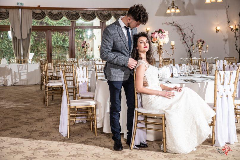 Cuplu fericit Palatul Ghica